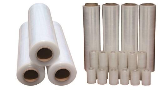 厂家直销PE缠绕膜拉伸膜包装打包托盘工业保鲜塑料膜