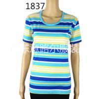 女装短袖t恤纯色圆领打底衫纯棉