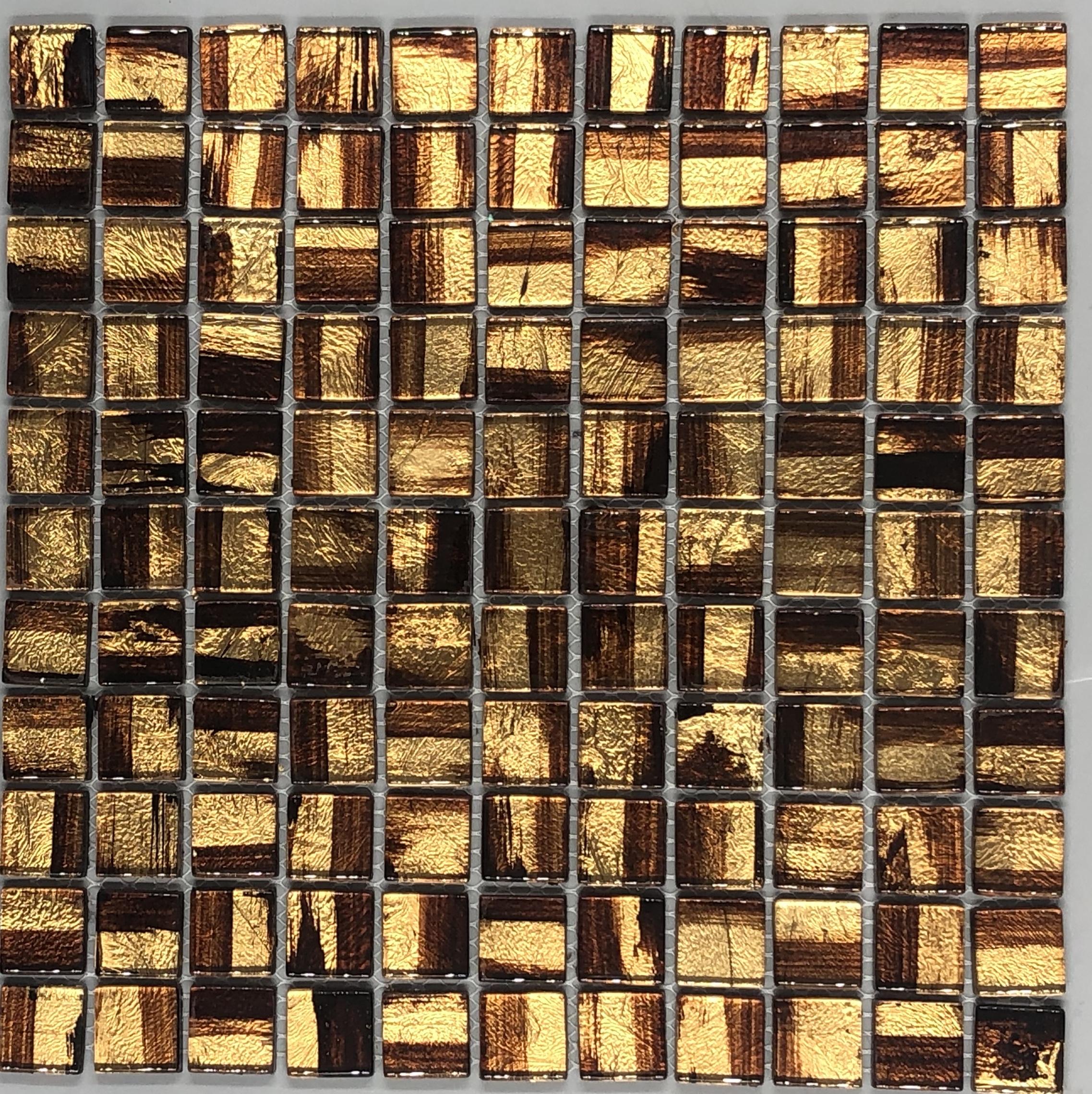 金线手绘马赛克 JY002、马赛克、玻璃马赛克、佛山马赛克厂、广东马赛克厂家