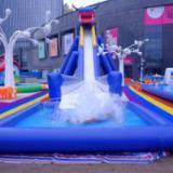 充气游泳池设计  游乐场游泳池 游乐场游泳池定制