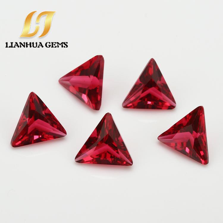 直销供应合成玫红玻璃三角直角各种颜色组合刚玉梧州厂价合成玫红玻璃广西直销玫红玻璃三角直角