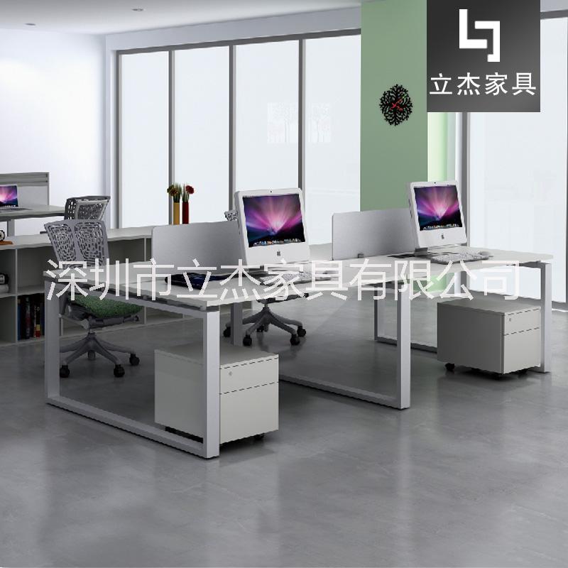 公桌简约现代桌椅组合职员四人位椅电脑办工桌子工位办公室家具办公桌AM-401