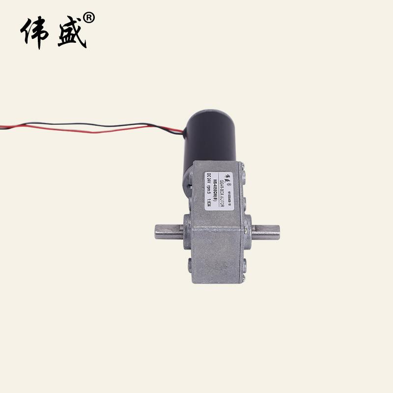 4058GW涡轮减速电机 涡轮蜗杆直流减速电机厂家报价