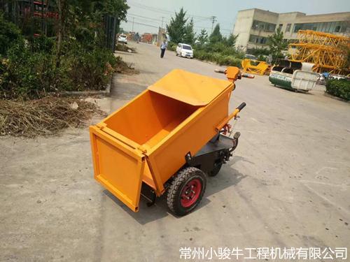 无锡工地小型电动翻斗车,建筑行业、养殖行业、垃圾运输通用车