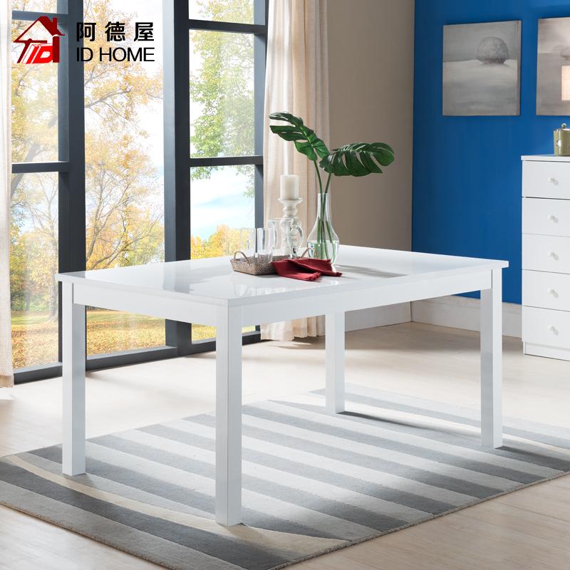 东莞家具厂 欧式家用餐桌椅组合简约现代