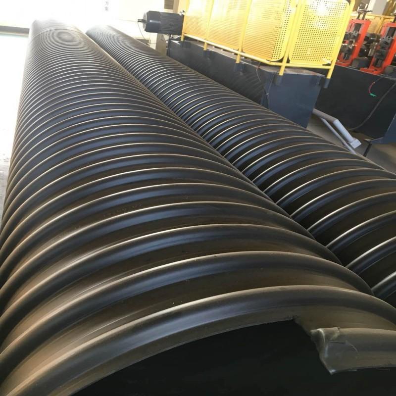钢带波纹管的技术连接