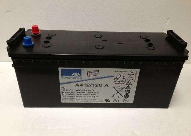德国阳光蓄电池-尺寸容量