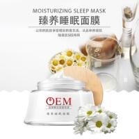 广州一站式OEM贴牌加工厂家 保湿补水 滋养肌肤 天玺化妆品代加工 臻养睡眠面膜 爆品 新品