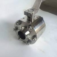 Q91Y-320P国标高压外螺纹焊接球阀