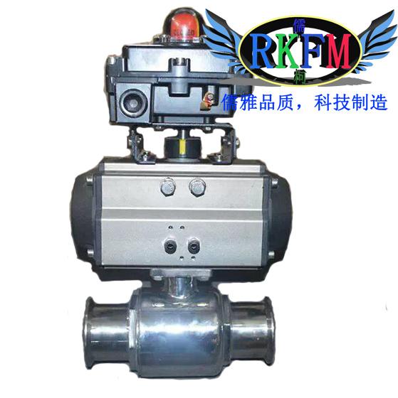 Q681F卫生级气动快装球阀