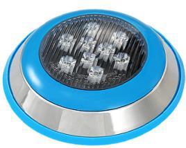 LED水下灯LED喷泉灯水底灯  七彩12V喷泉灯  18W防水圆形射灯