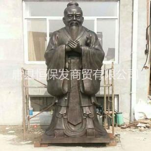孔子铜像图片