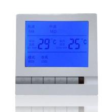 莱珂新款K805 中央空调智能温控器风机盘管温度控制器控温开关