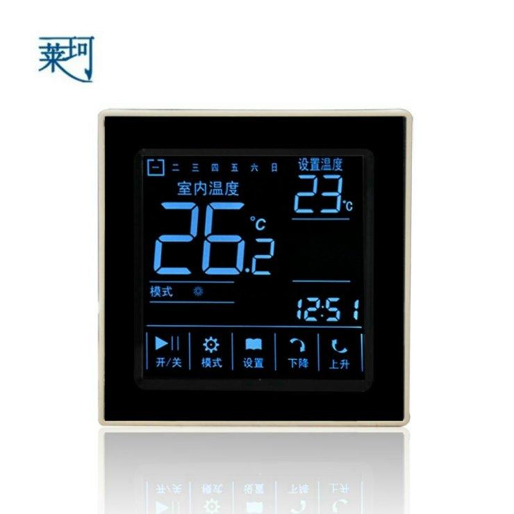 D303电采暖触摸屏液晶温控器 D303电采暖触摸屏温控器开关 D303电采暖触摸屏温度控制器