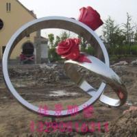 戒指不锈钢雕塑
