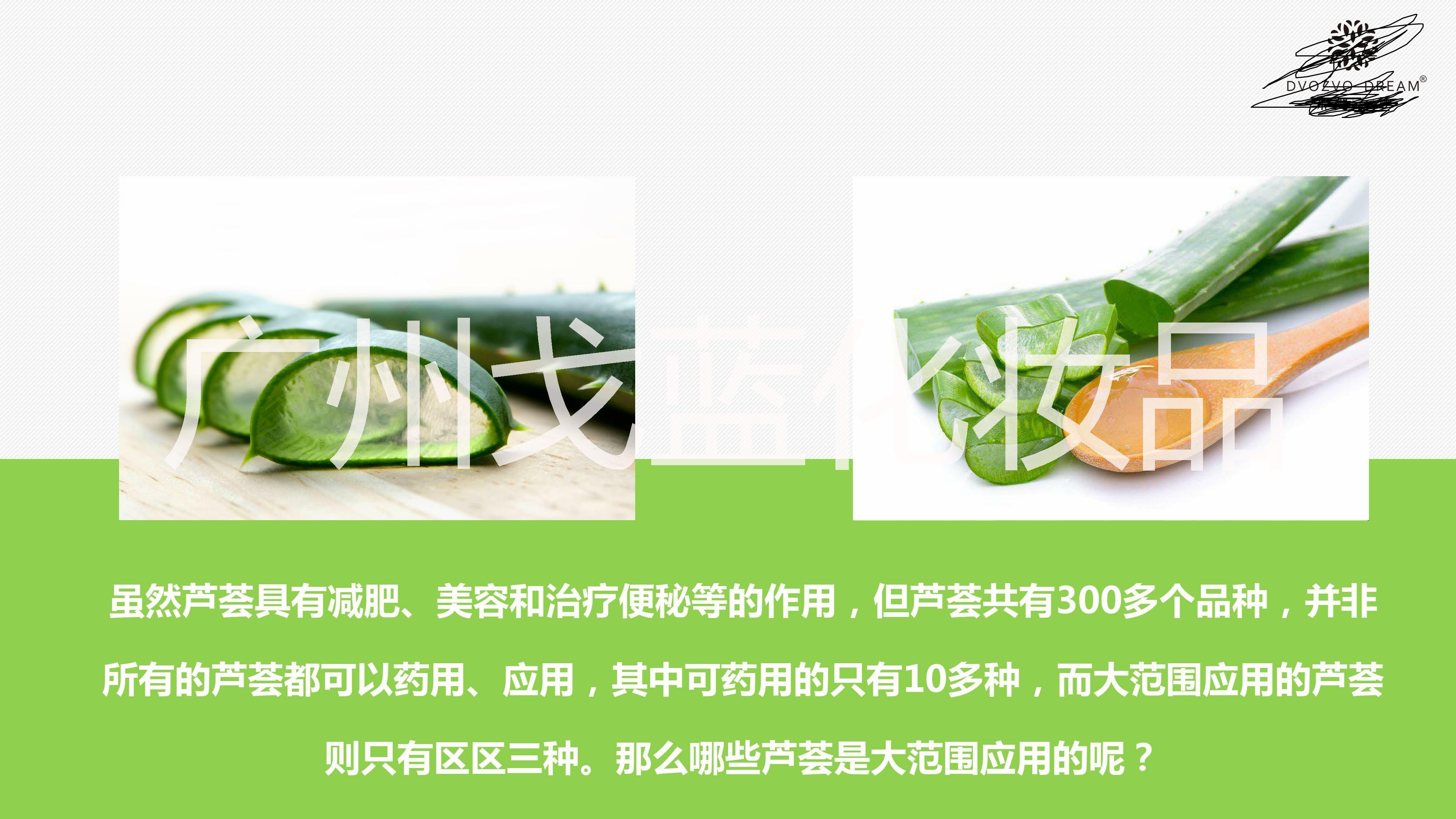 芦荟生物科技精华液解素液代加工贴牌,广州戈蓝