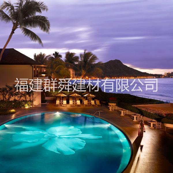群舜游泳池砖工厂供应泳池拼图别墅泳池设计方案泳池马赛克