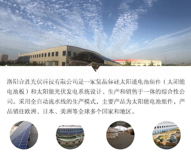 太阳能板厂家直供 多晶310W太阳能板