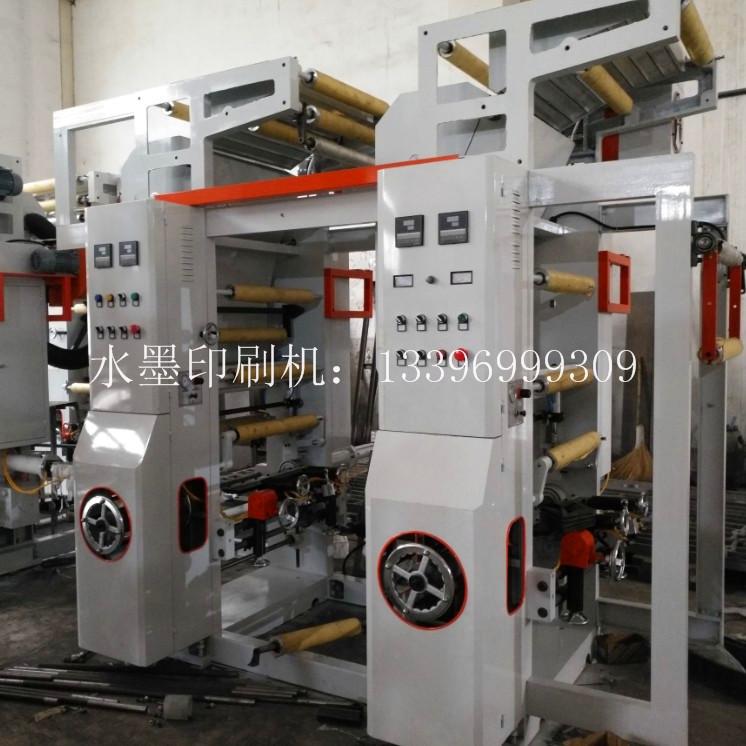 ABA吹膜机配水性油墨凹版精密印刷机单色环保 水性油墨凹版印刷机