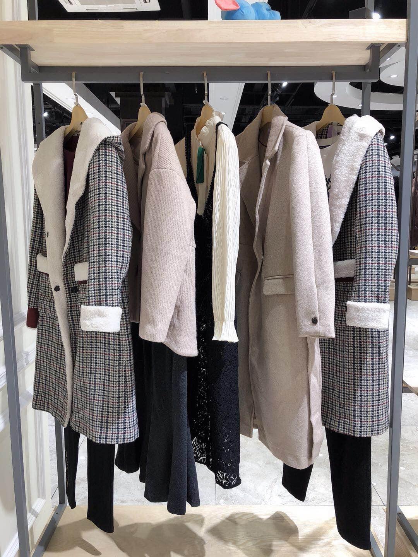 相约四季品牌折扣女装湖南便宜冬装女式外套货源走份批发
