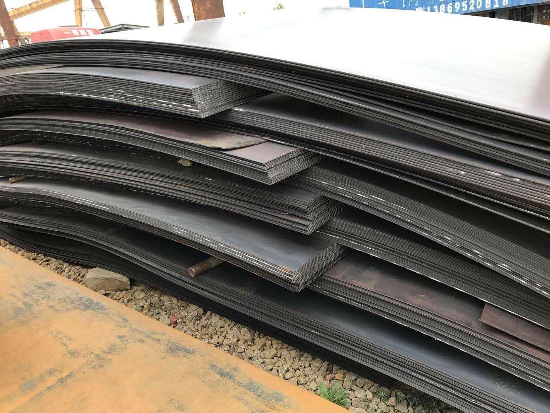 Q235NH耐候钢 山东Q345qE桥梁板中厚板  高强度钢板 山东Q235NH耐候钢大量现货