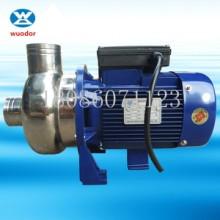 供应粤华不锈钢耐腐蚀泵价格WDK-1501.5KW不锈钢高温泵杂质液体增压泵批发
