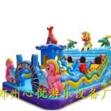湖南郴州大圣归来新款充气滑梯60平方小型儿童充气蹦蹦床款式