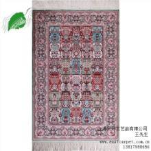 上海手工真丝地毯上海真丝地毯怎么清洗北京绢丝挂毯兴升供批发