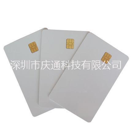 接触4442芯片卡彩卡IC白卡会员卡智能门禁卡