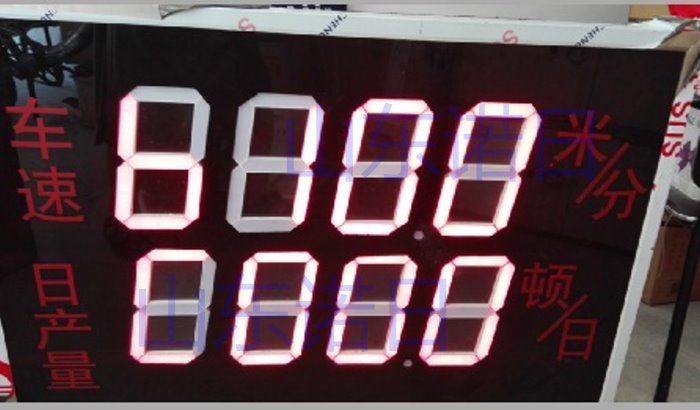 供应旋转编码器车速看板车速看板 车速LED看板 旋转编码器LED