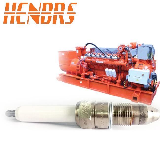 适用于高斯科尔7664416C工业火花塞 铱金火花塞 发电机组配件
