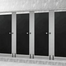 四川特标卫生间隔断厂家定制 厕所隔断 倍特板洗手间隔断 隔断专业厂家报价 宜宾卫生间隔断安装
