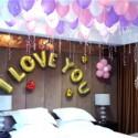 七夕节气球装饰图片