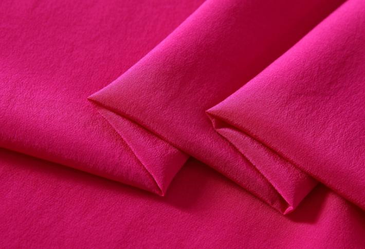 真丝布料100%桑蚕丝双绉面料 现货供应 真丝双绉面料