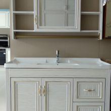 薛城金艺达全铝定制|橱柜|壁橱|水槽|铝合金材质|全铝橱柜 铝合金浴室柜
