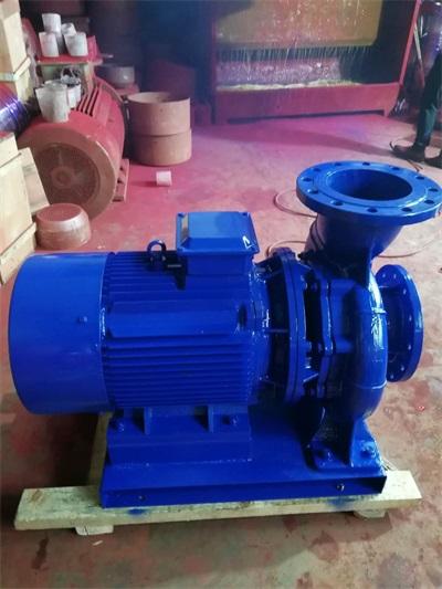 上海供应ISW型卧式单级单吸离心泵