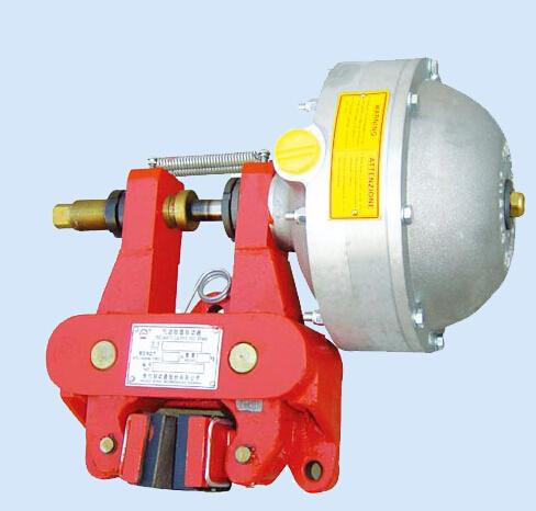河南气动制动器厂家供应QP12.7气动嵌盘式制动器