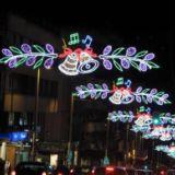 中山LED街景亮化过街灯批发,LED街景亮化过街灯厂家 供应LE 供应LED双兜灯笼过街灯