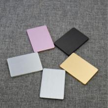 电源外壳  厂家直销新款铝合金拉丝固态硬盘电源外壳  优质耐用移动电源外壳批发