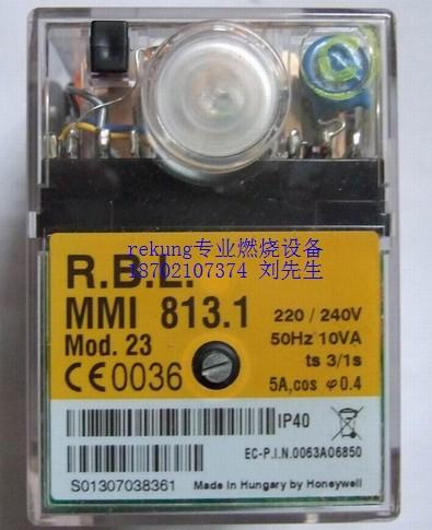 1控制器 利雅路燃烧机专用 霍尼韦尔控制器mmi813.