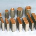 钛铜复合棒、复合板图片