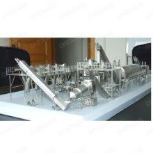 仿真食品饮料灌装包装设备模型定制饮料灌装线不锈钢模型不锈钢模型牛奶果汁生产线批发