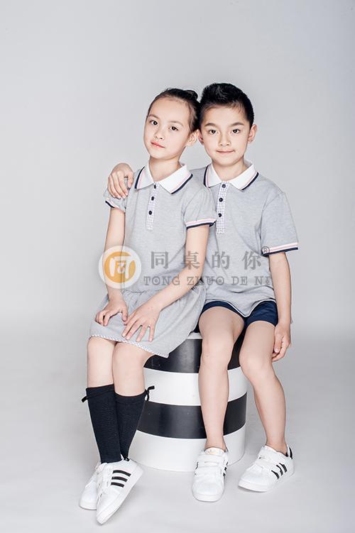 """江苏幼儿园园服定制厂,""""同桌的你""""价格优惠、超高品质 夏季时尚运动套装"""