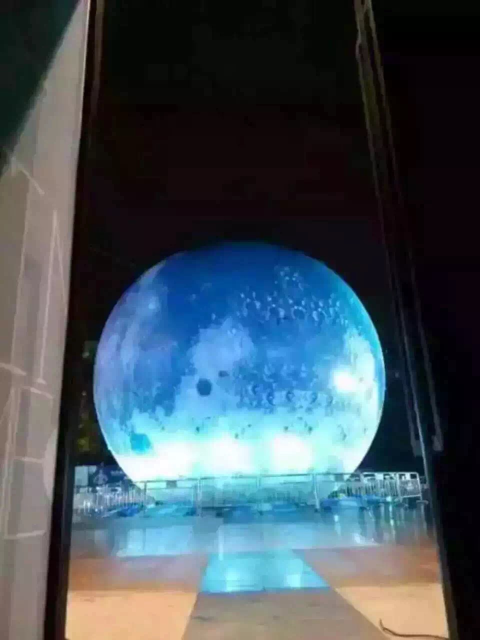 发光月亮球道具出租租赁中秋佳节必备发光月亮球道具出租租赁