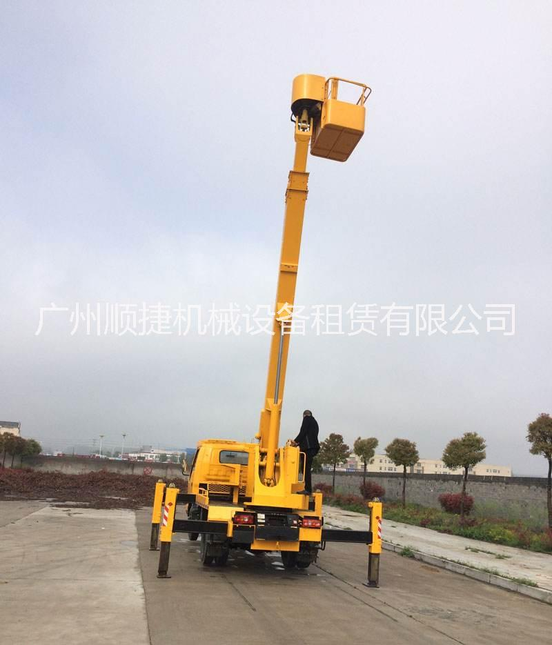 广州升降车出租电话,高空排水管安装,高空外墙修补车出租