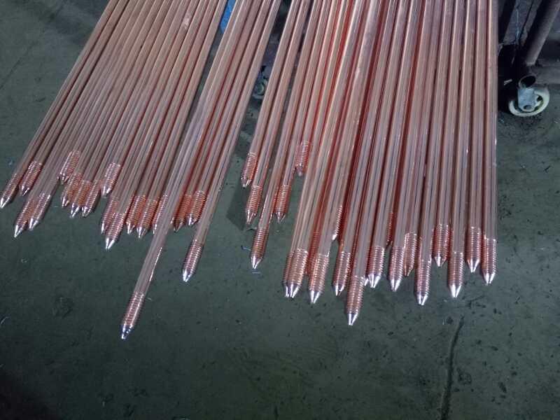 晶淞电力器械生产防雷镀铜接地棒