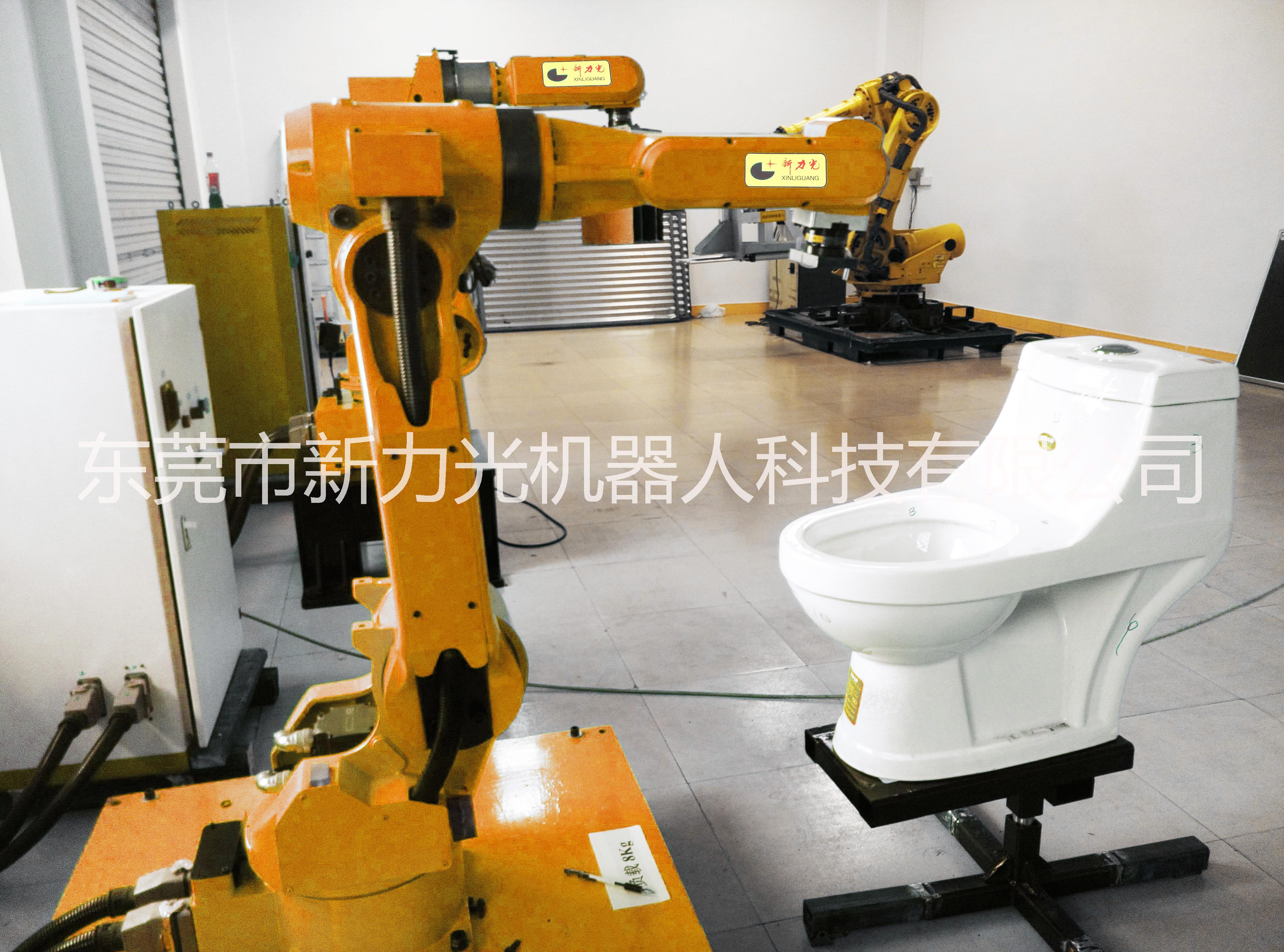 工业机器人自动喷釉设备 全自动喷涂机器人 车间喷涂生产线