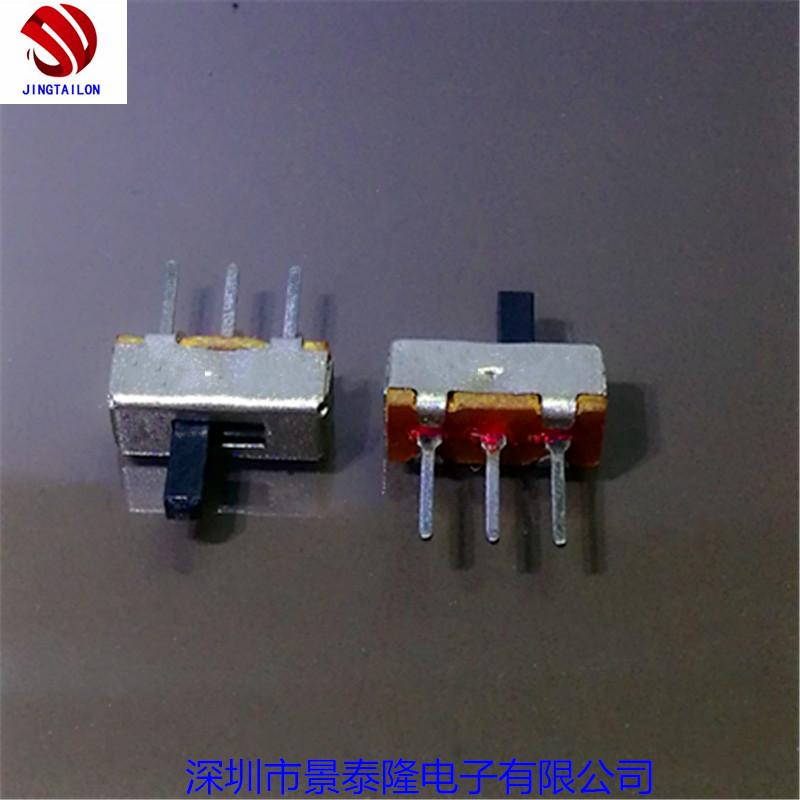 深圳厂家直销拨动开关SS-12DOO 两档拨动开关插件式拨动开关