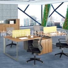 新乡办公桌办公台职员屏风办公桌电脑桌-金彩办公桌图片