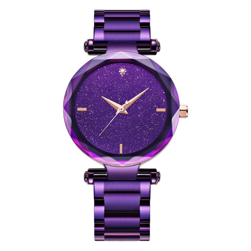 手表厂家女士手表休闲梦幻星空手表